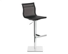 Travis Adjustable Barstool - Black