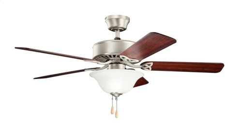 "Renew Select CFL 50"" Fan Brushed Nickel"