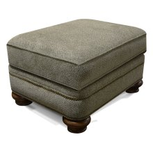 Reed Ottoman with Nails 5Q07N