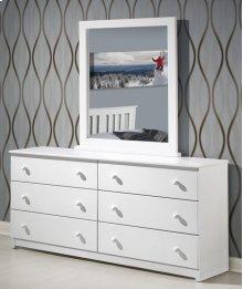 White Dresser With Mirror