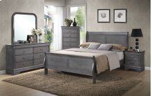 6 PC Bedroom - 3PC Queen Bed, Dresser, Mirror, Chest