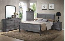 5 PC Bedroom - 3PC Queen Bed, Dresser & Mirror