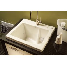 Jetted Laundry Sink