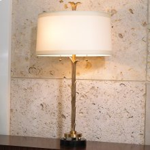 Organic Table Lamp-Antique Brass