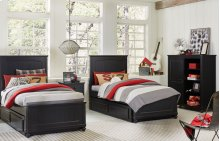 Crossroads Complete Panel Bed, Twin 3/3