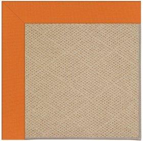 Creative Concepts-Cane Wicker Canvas Tangerine