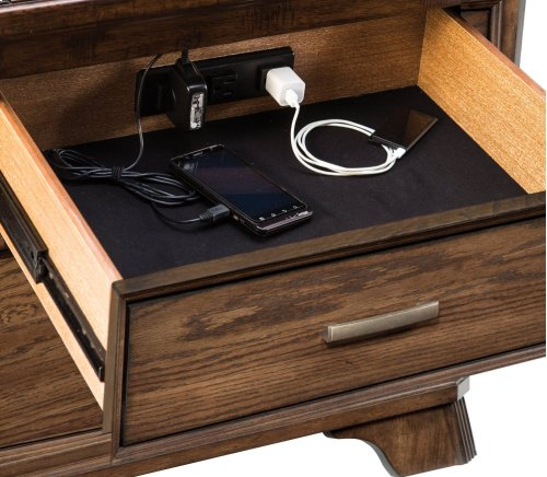 Telluride Two Drawer Nightstand