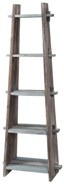 Nantucket Weathered Wood Etagere