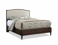 Queen Upholstered Arch Top Bed Product Image