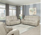 Power Dual Reclining Console Loveseat With Power Headrest and Usb Charging Port Product Image