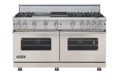 "60"" Custom Sealed Burner Range, Propane Gas, No Brass Accent"