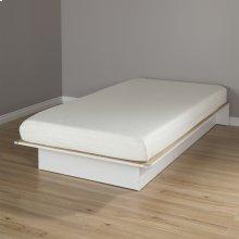 6-Inch Memory Foam Mattress - CertiPur Certified - 10-Year Warranty - White