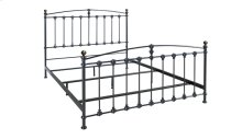 Metal Bed In Dark Graphite Finish