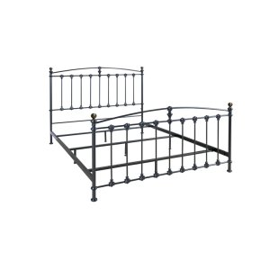 BelloMetal Bed In Dark Graphite Finish