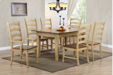 Sunset Trading 7 Piece Brook Rectangular Extension Dining Set - Sunset Trading