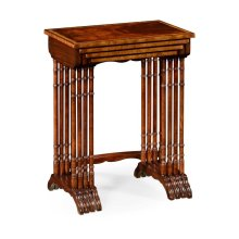 Regency Mahogany Nest of Tables