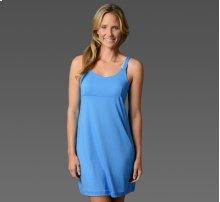 Light Blue Women's Sleep Dress With Inner Bra M Size