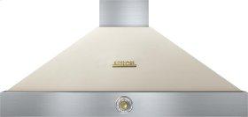 Hood DECO 48'' Cream matte, Gold 1 blower, analog control, baffle filters