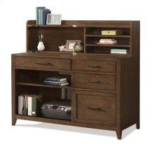 Vogue Hutch Plymouth Brown Oak finish