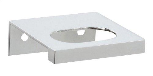 Modern Square Edge Tab Pull 1 1/4 Inch (c-c) - Polished Chrome