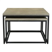 Drey Square Nesting Coffee Tables Set Of 2