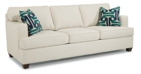 Pierce Fabric Three-Cushion Sofa