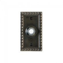 Corbel Rectangular Doorbell Button Silicon Bronze Brushed
