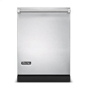 "Viking24"" Dishwasher w/Installed Professional Stainless Steel Panel"