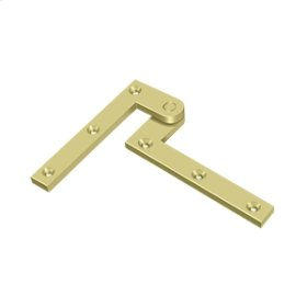 "4 3/8"" x 5/8"" x 1 7/8"" Hinge - Polished Brass"