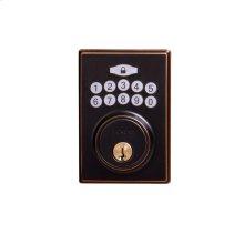 Contemporary Electronic Keypad Deadbolt - Grade 3