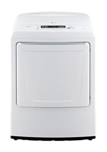7.3 cu. ft. Ultra Large Capacity Top Load Dryer with Distinct and Modern Front Control Design (Electric)