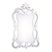 Venetian 26 in. Transitional Mirror in Clear