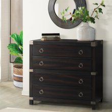 Myra - Accent Chest - Sable Finish