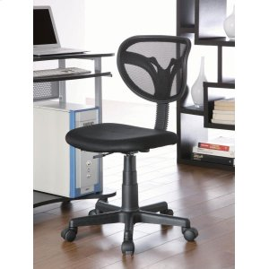 CoasterBlack Mesh Office Chair
