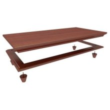 Crown and Base for 4720/4740/4750 : Chestnut