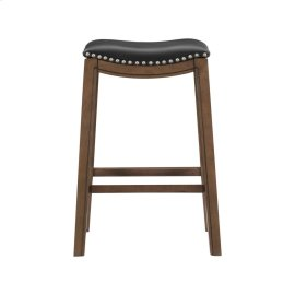29 Pub Height Stool, Black