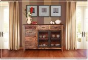 Multicolor Buffet 6 Drawers, 2 Mesh Doors