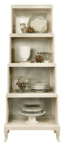 Salon Etagere in Salon Alabaster (341) Product Image