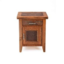 Sherwood 1 Door 1 Drawer 1 Nightstand Hinged Right