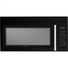 "30"" Over-the-Range Microwave Oven with Convection, Black Floating Glass w/Handle Product Image"