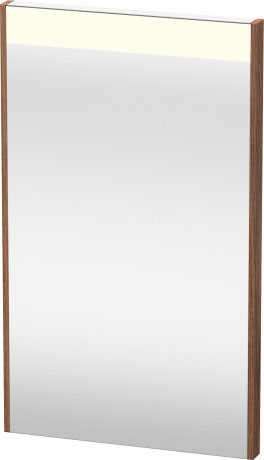 Mirror With Lighting, Natural Walnut (decor)