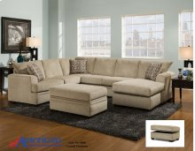 6800 - Cornell Platinum 2-Piece Sectional