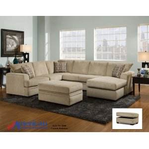 American Furniture Manufacturing6800 - Cornell Platinum Sectional