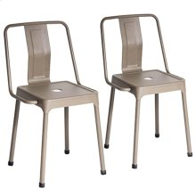 Energy Chair - Set Of 2 - Cappuccino Metal
