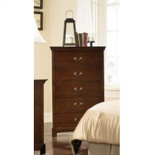 Tatiana Transitional Five-drawer Chest