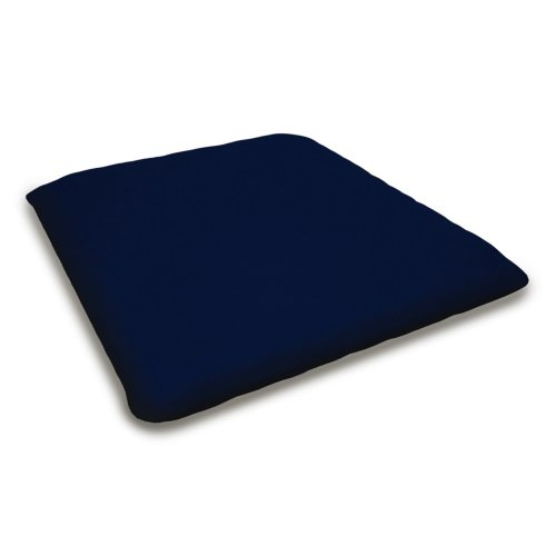 "Navy Seat Cushion - 18.5""D x 21""W x 2.5""H"
