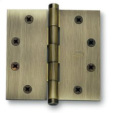 Plain Bearing, Full Mortise Hinge, Solid Extruded Brass