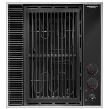 """Expressions™ Collection Modular Electric Downdraft Cooktop, 20"""", Black"""