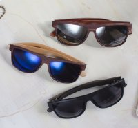 18 pc. assortment. Wooden Sunglasses Product Image