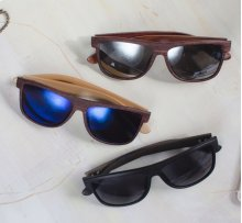 18 pc. assortment. Wooden Sunglasses